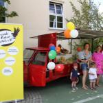 Der Eiswagen des Fördervereins auf dem Sommerfest der Grundschule